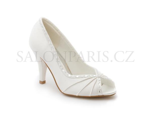 60d6d3798e4 Dámské svatební boty 1906
