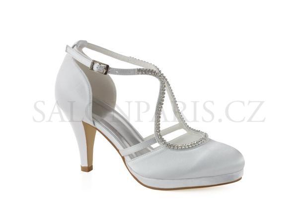 Dámské svatební boty 260  1880fa3364